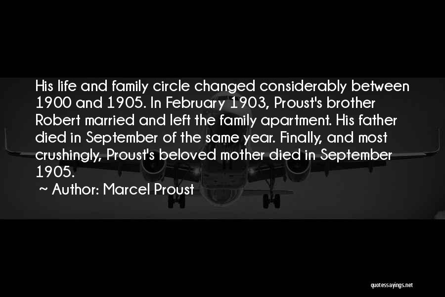 Family Circle Of Life Quotes By Marcel Proust