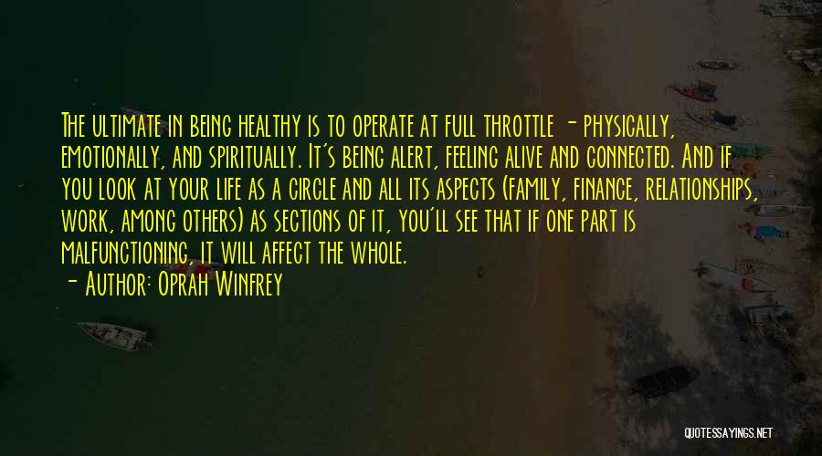 Family Circle Of Life Quotes By Oprah Winfrey
