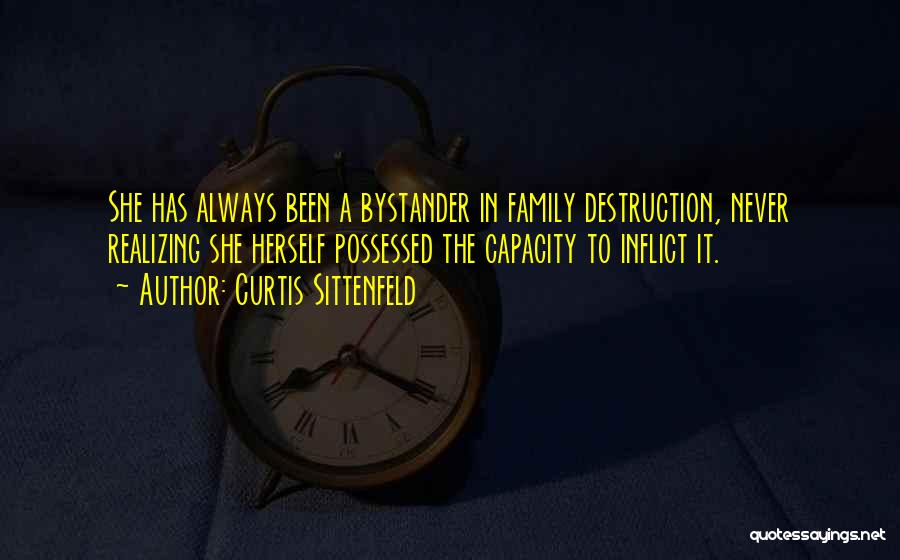 Family Destruction Quotes By Curtis Sittenfeld