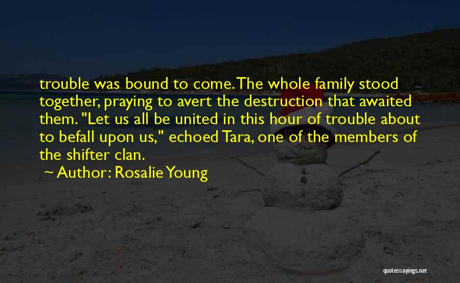 Family Destruction Quotes By Rosalie Young