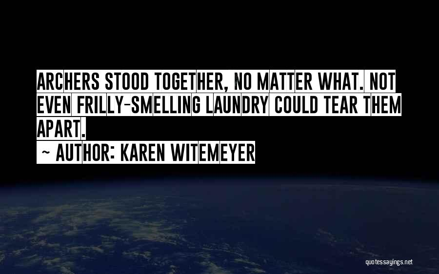 Family Far Apart Quotes By Karen Witemeyer