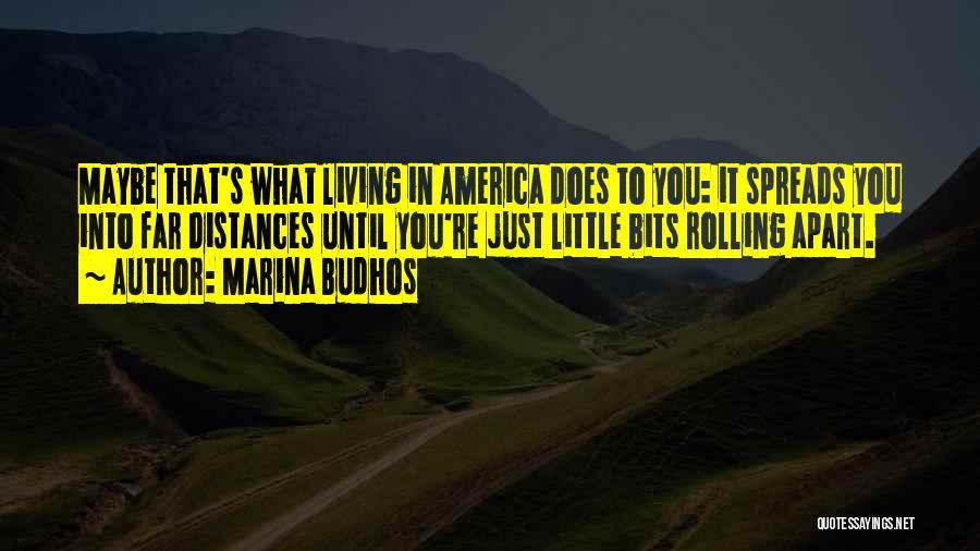 Family Far Apart Quotes By Marina Budhos