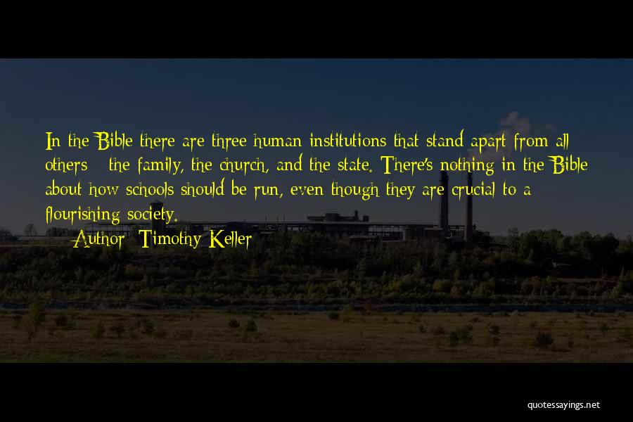 Family Far Apart Quotes By Timothy Keller