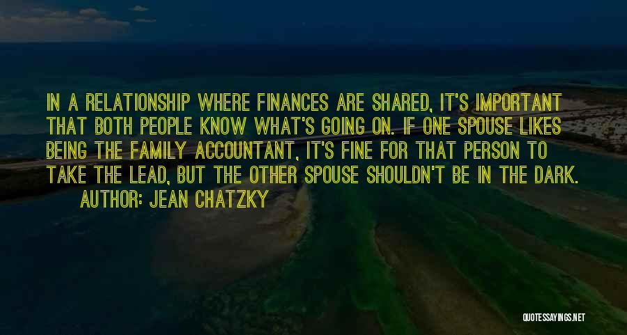 Family Finances Quotes By Jean Chatzky