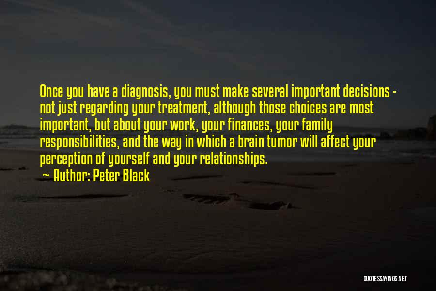 Family Finances Quotes By Peter Black
