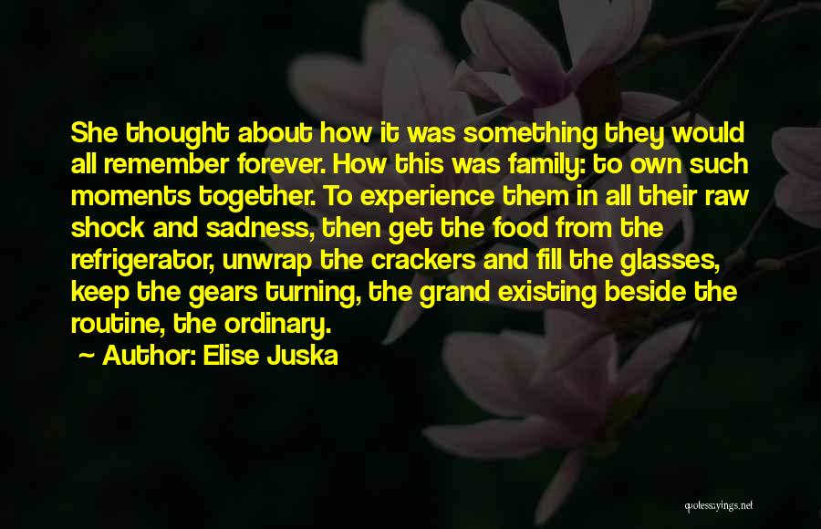 Family Forever Quotes By Elise Juska