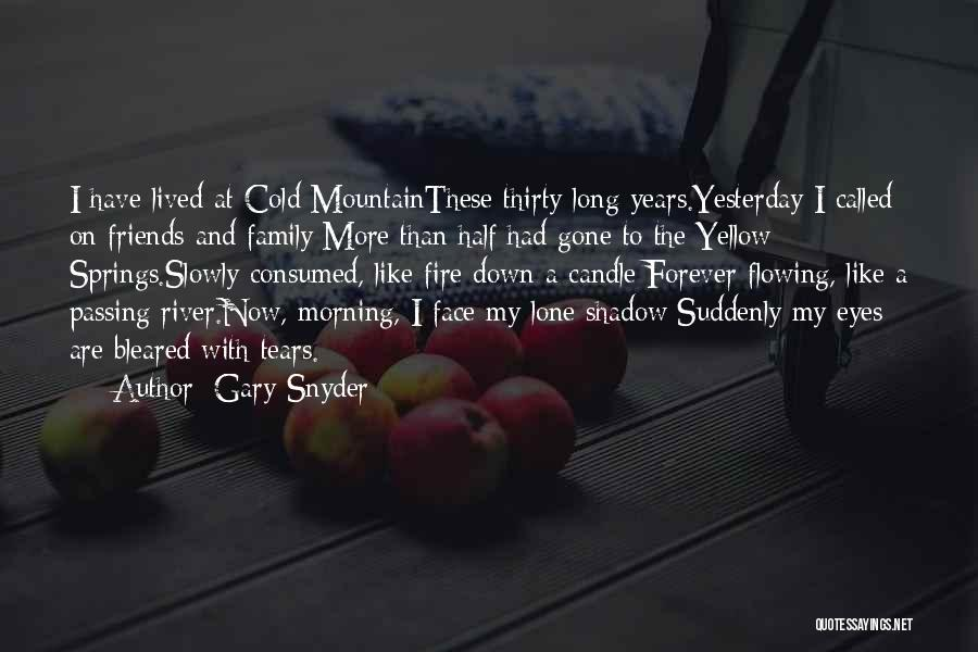 Family Forever Quotes By Gary Snyder