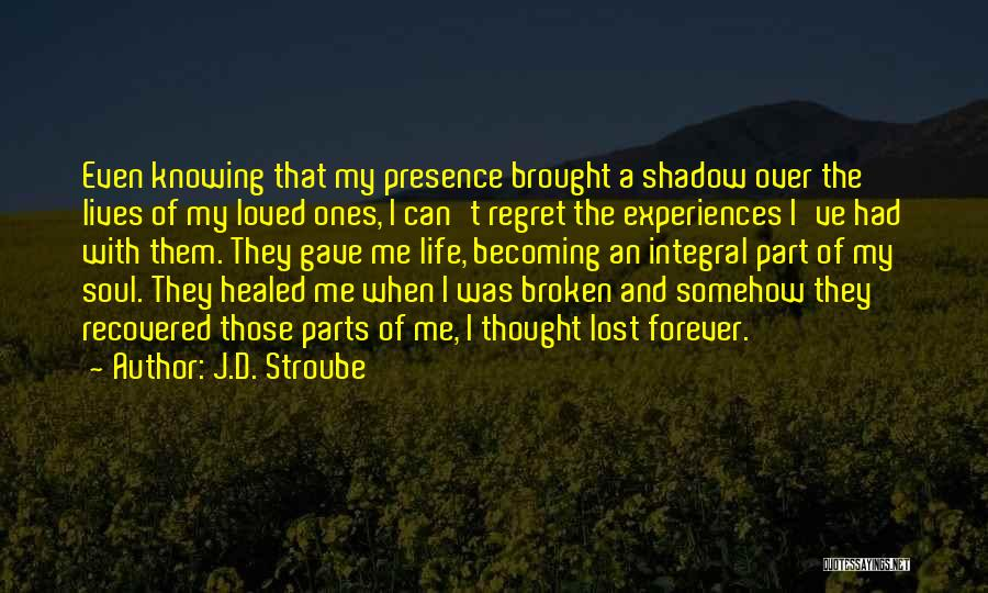 Family Forever Quotes By J.D. Stroube