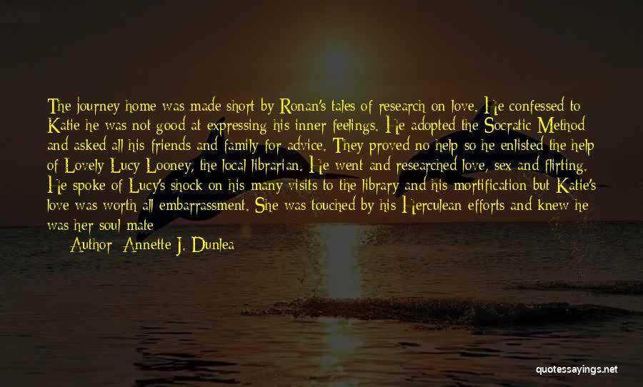 Family Friends Short Quotes By Annette J. Dunlea