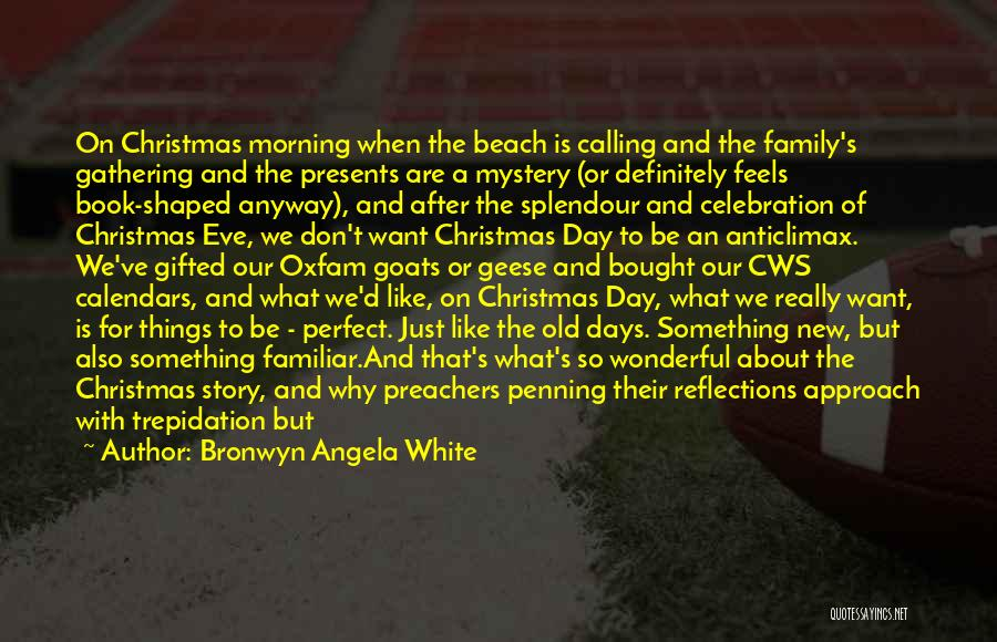Family Gathering Christmas Quotes By Bronwyn Angela White