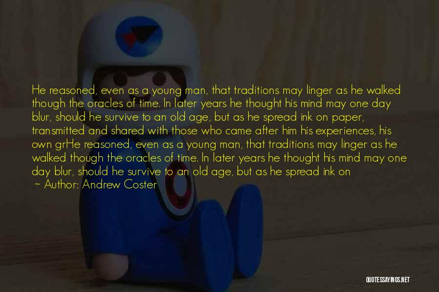 Family Hard Time Quotes By Andrew Coster