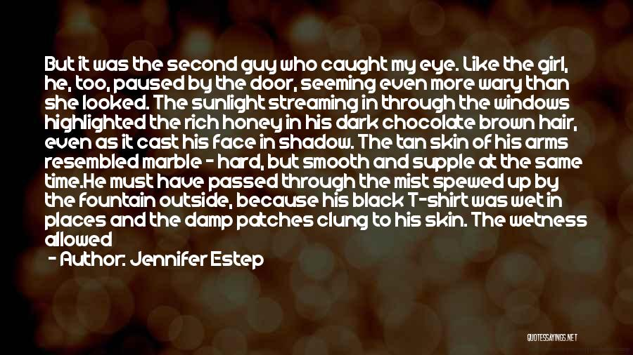 Family Hard Time Quotes By Jennifer Estep