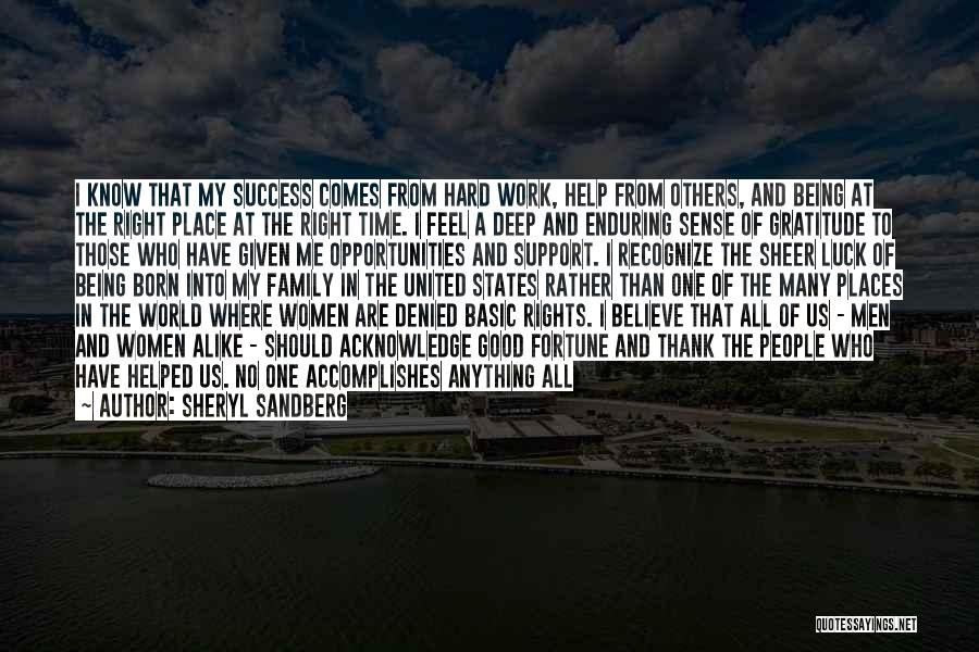 Family Hard Time Quotes By Sheryl Sandberg