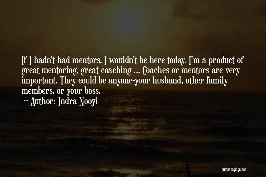 Family Husband Quotes By Indra Nooyi