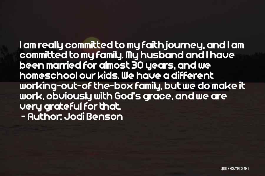 Family Husband Quotes By Jodi Benson