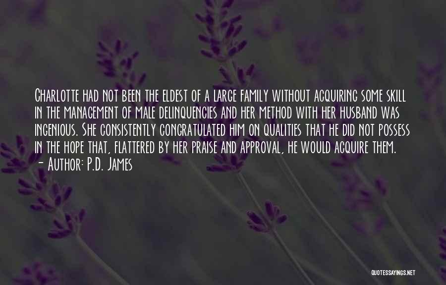 Family Husband Quotes By P.D. James