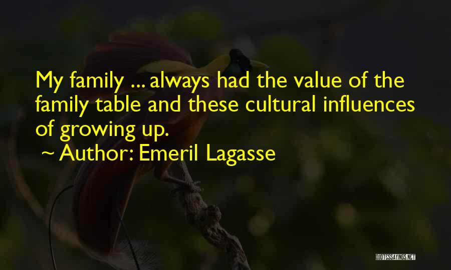 Family Influences Quotes By Emeril Lagasse