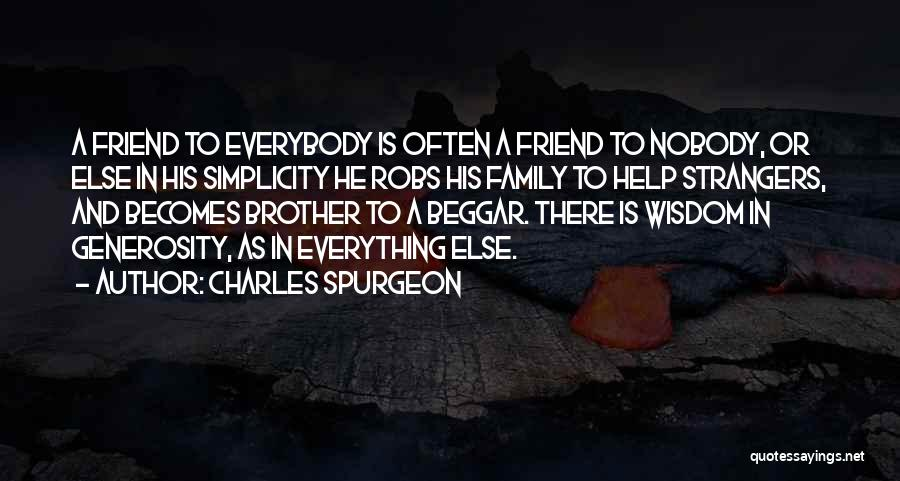 Family Is Everything Quotes By Charles Spurgeon