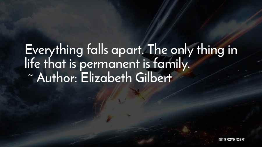 Family Is Everything Quotes By Elizabeth Gilbert