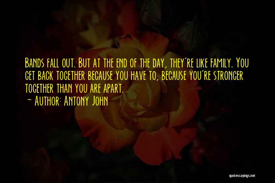 Family Is My Strength Quotes By Antony John