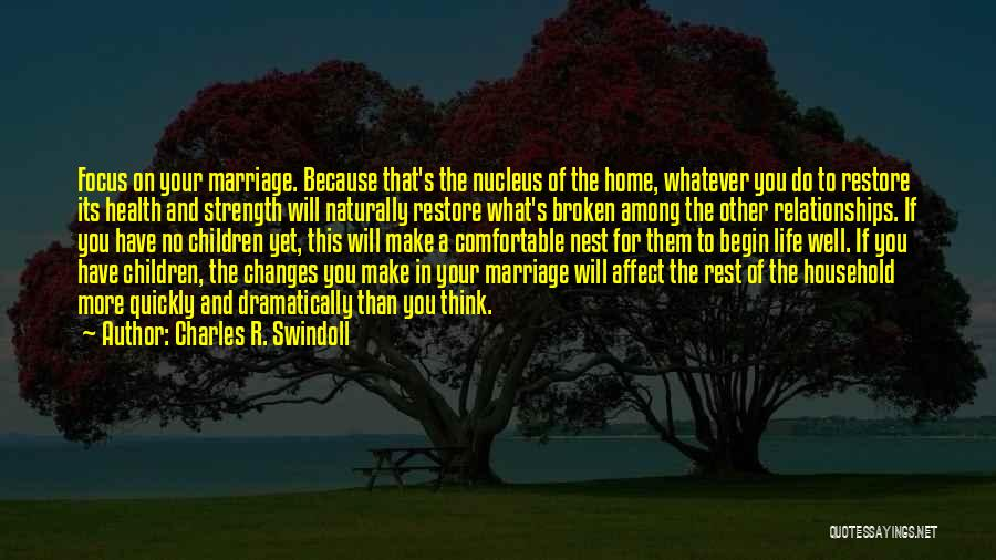Family Is My Strength Quotes By Charles R. Swindoll