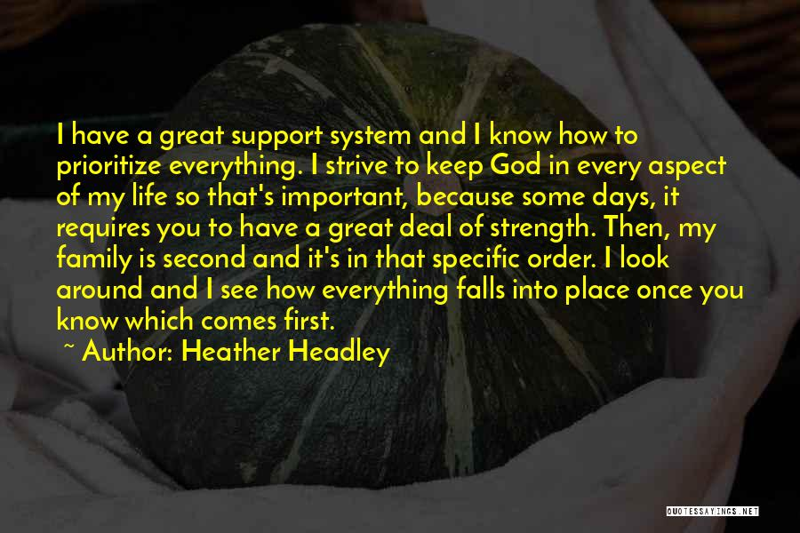 Family Is My Strength Quotes By Heather Headley