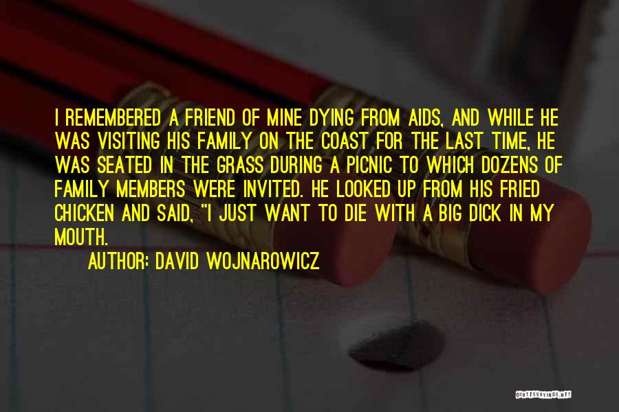 Family Is Your Best Friend Quotes By David Wojnarowicz