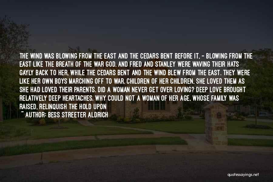 Family Not There Quotes By Bess Streeter Aldrich