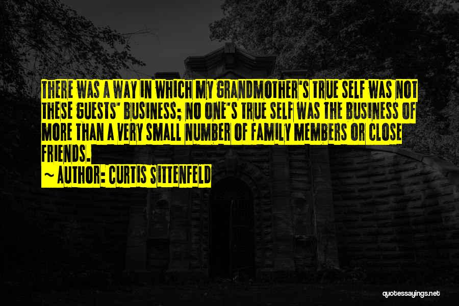Family Not There Quotes By Curtis Sittenfeld