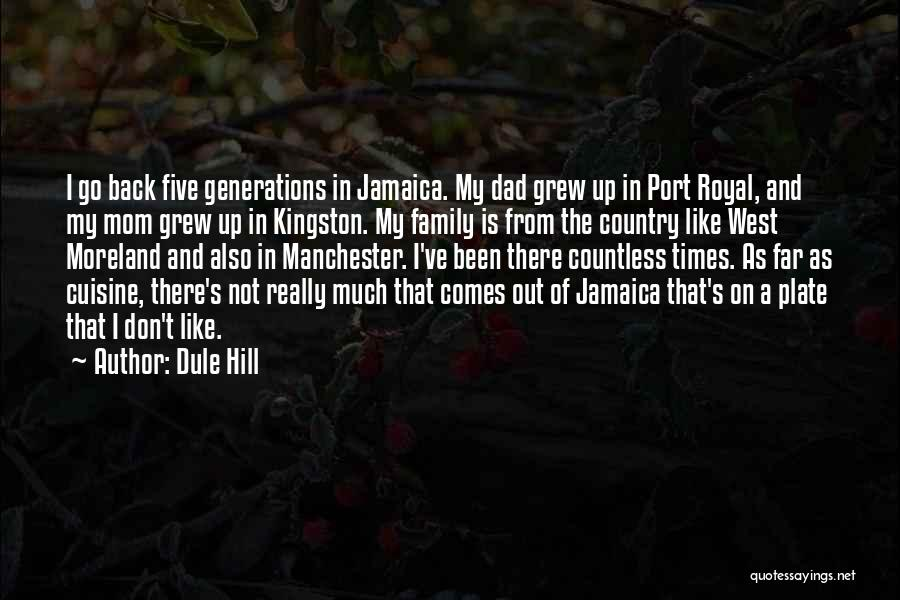 Family Not There Quotes By Dule Hill