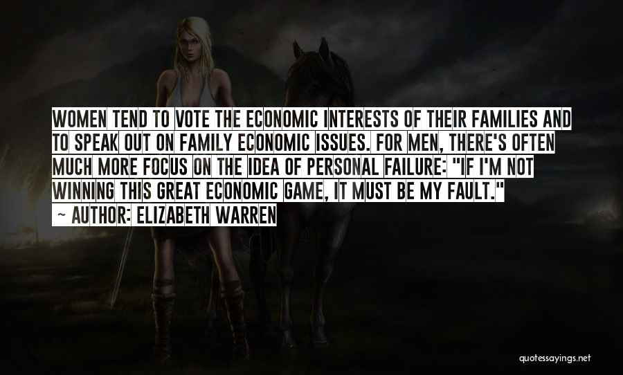 Family Not There Quotes By Elizabeth Warren