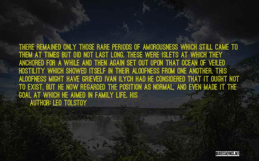 Family Not There Quotes By Leo Tolstoy