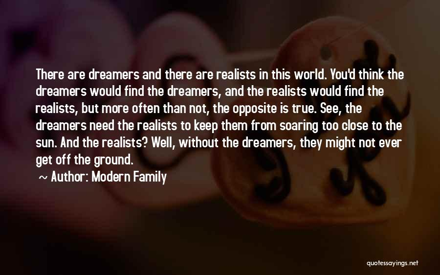 Family Not There Quotes By Modern Family