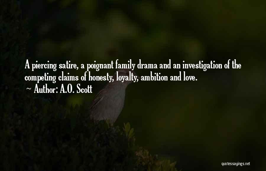 Family Of 3 Love Quotes By A.O. Scott