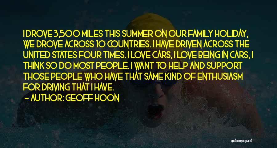 Family Of 3 Love Quotes By Geoff Hoon