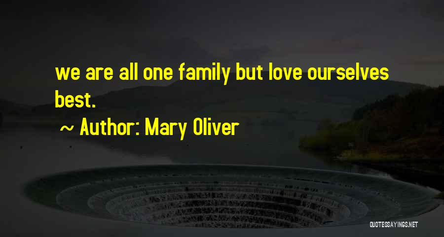 Family Of 3 Love Quotes By Mary Oliver