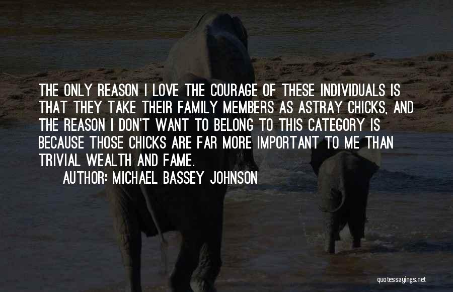 Family Of 3 Love Quotes By Michael Bassey Johnson