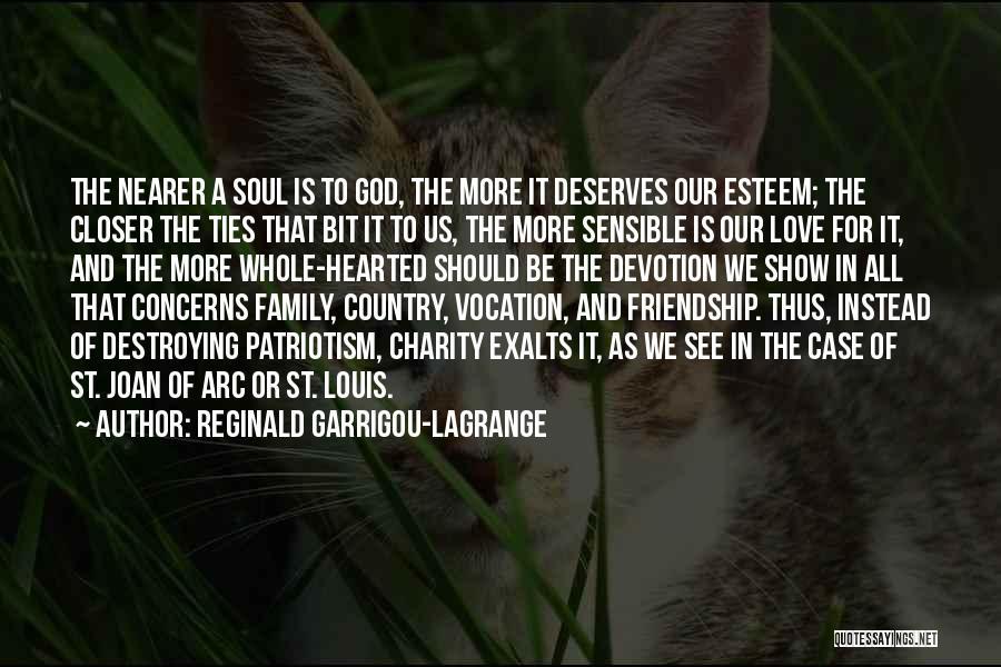 Family Of 3 Love Quotes By Reginald Garrigou-Lagrange