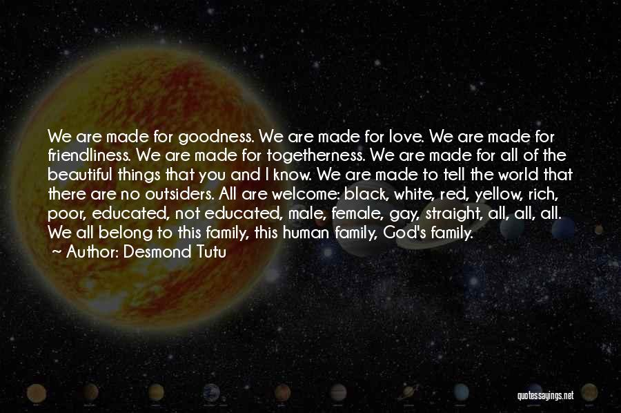 Family Of God Quotes By Desmond Tutu