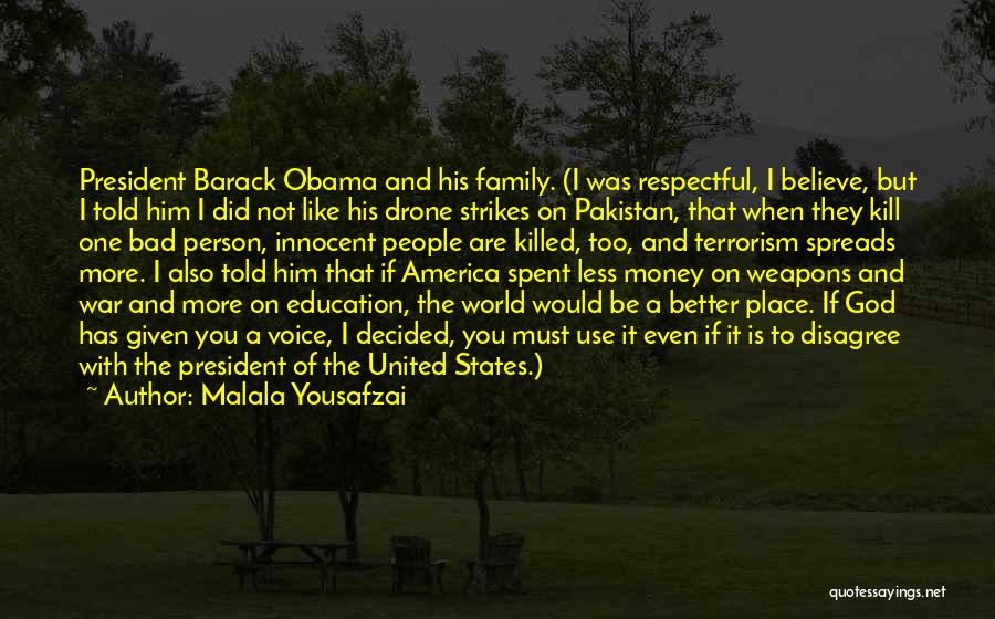 Family Of God Quotes By Malala Yousafzai