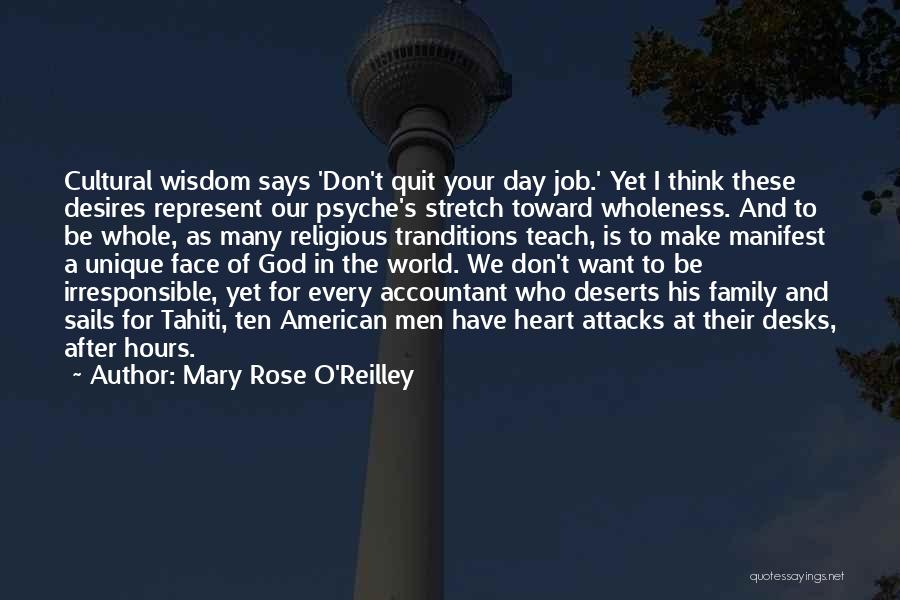 Family Of God Quotes By Mary Rose O'Reilley