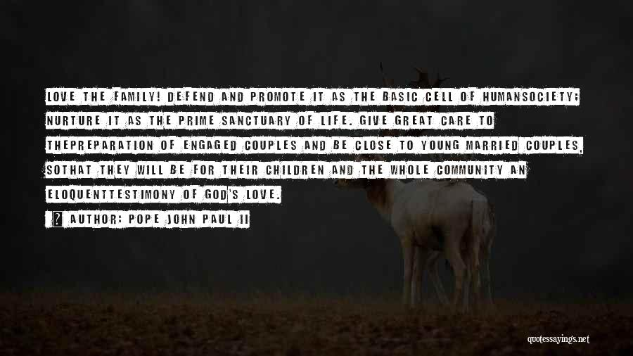 Family Of God Quotes By Pope John Paul II