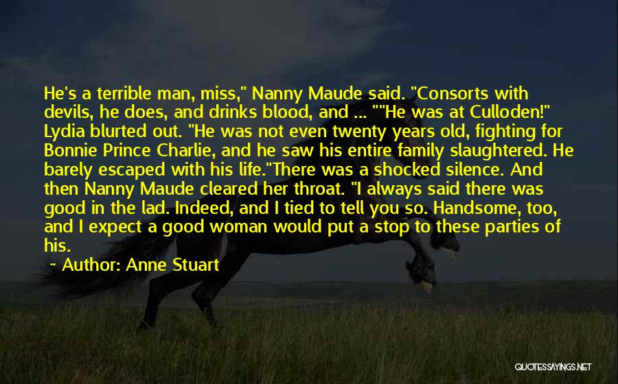 Family Parties Quotes By Anne Stuart