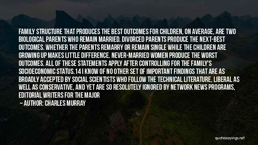 Family Parties Quotes By Charles Murray