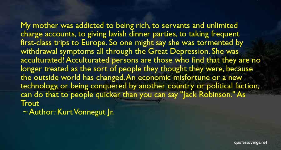 Family Parties Quotes By Kurt Vonnegut Jr.