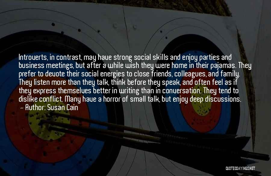 Family Parties Quotes By Susan Cain