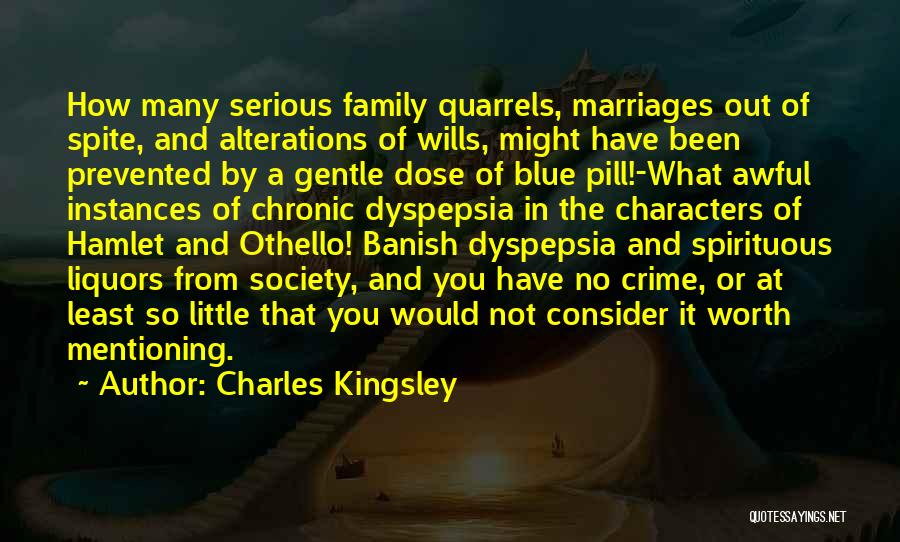Family Quarrels Quotes By Charles Kingsley