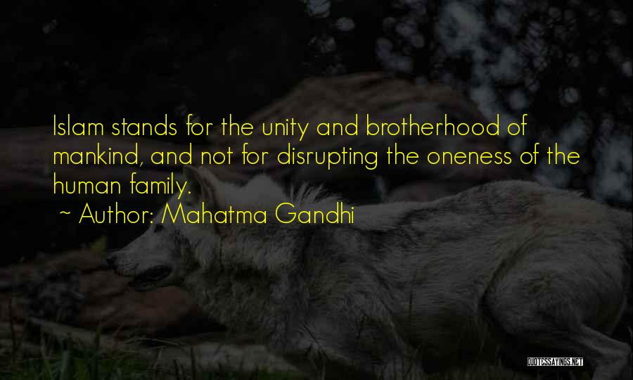 Family Stands For Quotes By Mahatma Gandhi