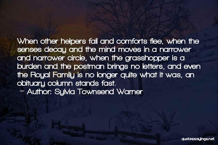 Family Stands For Quotes By Sylvia Townsend Warner
