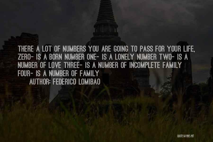 Family There For You Quotes By Federico Lomibao